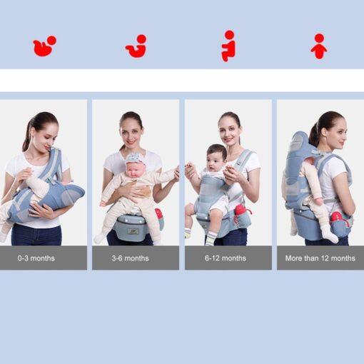 0 3 48m Portabebe Baby Carrier Ergonomic Baby Carrier Infant Baby Ergonomic Kangaroo Baby Sling For 4