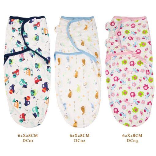0 3 Months 100 Cotton Baby Swaddle Wrap Blanket Newborn Infants Baby Envelop Sleep Bag Sleepsack 5
