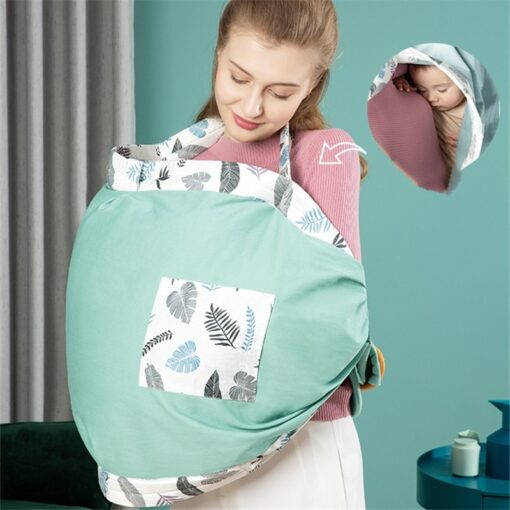 0 36M Newborn Baby Wrap Carrier Sling Adjustable Infant Comfortable Nursing Cover Soft Breathable Breastfeeding Carrier 2