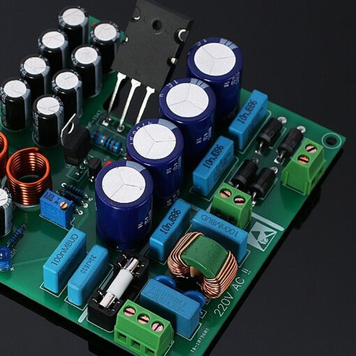 1 10A Linear Large Low Noise High Stability Current Regulated Power Supply Board Parts Accessory 5