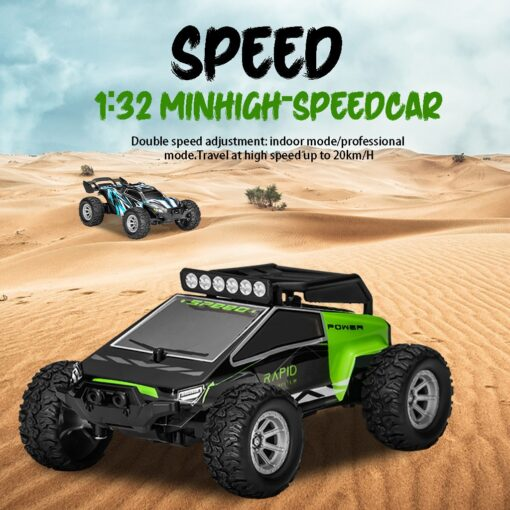 1 32 4ch 2wd 2 4ghz Mini Off road Rc Racing Car Truck Vehicle High Speed