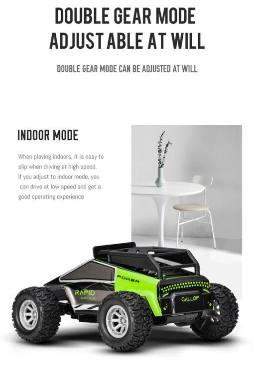 1 32 RC Car 2 4G Stunt Drift Deformation Buggy Car Rock Crawler Roll Car 360 4