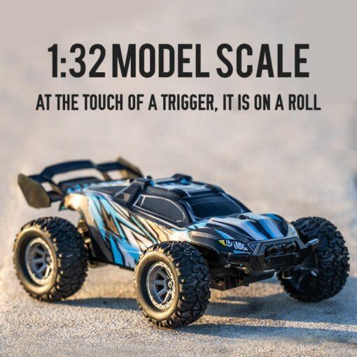 1 32 RC Car 2 4G Stunt Drift Deformation Buggy Car Rock Crawler Roll Car 360