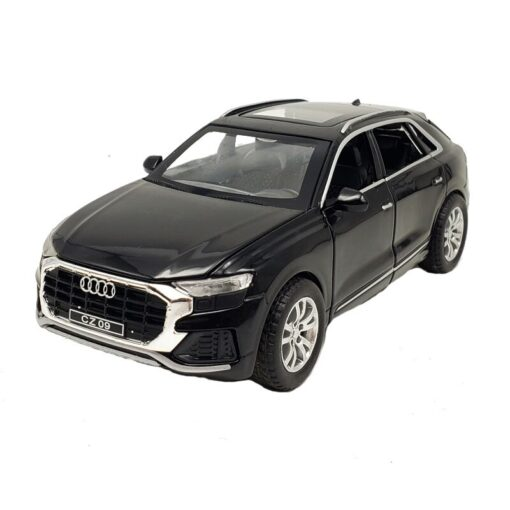 1 32 Scale Alloy Diecast Luxury SUV Car Model For Audi Q8 Collection Model Pull Back 5