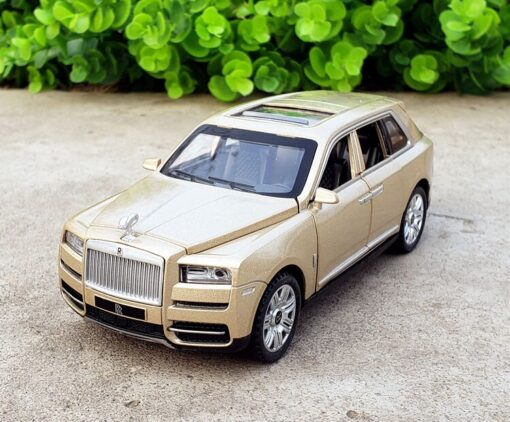 1 32 Scale Diecast Model For TheRolls Royce Cullinan Luxury Super SUV Metal Alloy Off Road 1