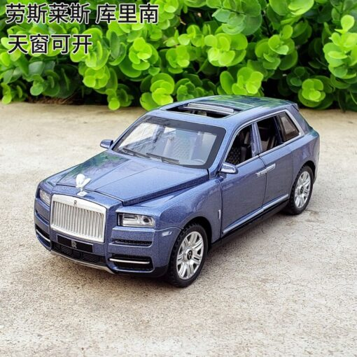 1 32 Scale Diecast Model For TheRolls Royce Cullinan Luxury Super SUV Metal Alloy Off Road 2