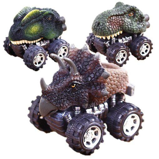 1 43 Simulation Dinosaur Car Model Fun Funny Gadgets Novelty Learning Educational Interesting Diecast Vehicles Toys 1