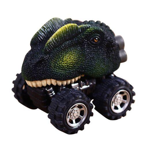 1 43 Simulation Dinosaur Car Model Fun Funny Gadgets Novelty Learning Educational Interesting Diecast Vehicles Toys 3
