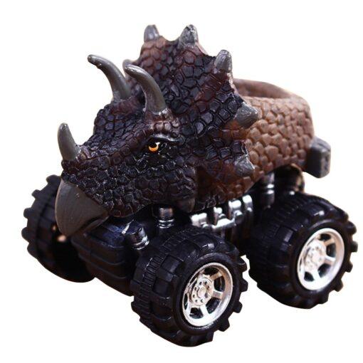 1 43 Simulation Dinosaur Car Model Fun Funny Gadgets Novelty Learning Educational Interesting Diecast Vehicles Toys 4