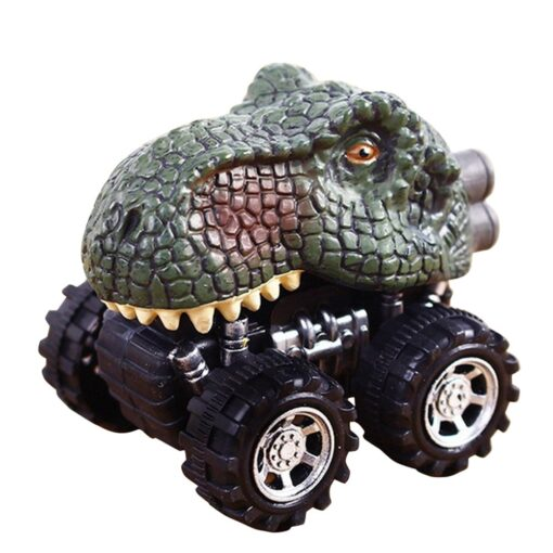 1 43 Simulation Dinosaur Car Model Fun Funny Gadgets Novelty Learning Educational Interesting Diecast Vehicles Toys 5