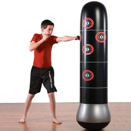 1 5M 1 6M New Inflatable Stress Punching Tower Bag Boxing Pillar Tumbler Fight Column Punching