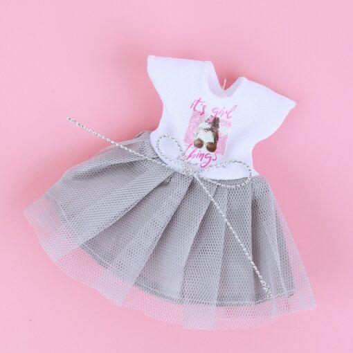 1 8 BJD Dolls Clothes Set 16 18 CM BJD Dolls Lace Flower Dress Sweater 6 4