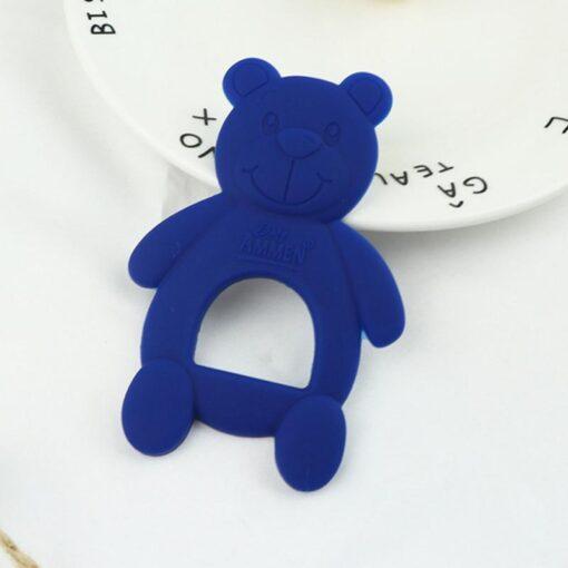 1 Piece Baby Teether Molar Stick Cute Bear Shape Child Teether Chew Toy Child Long Teeth 1