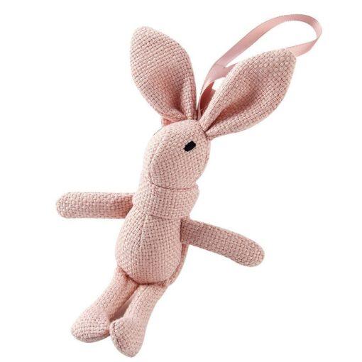 1 Piece NEW Rabbit Plush Animal Stuffed Dress Rabbit Key Chain TOY Kid s Party Plush 5