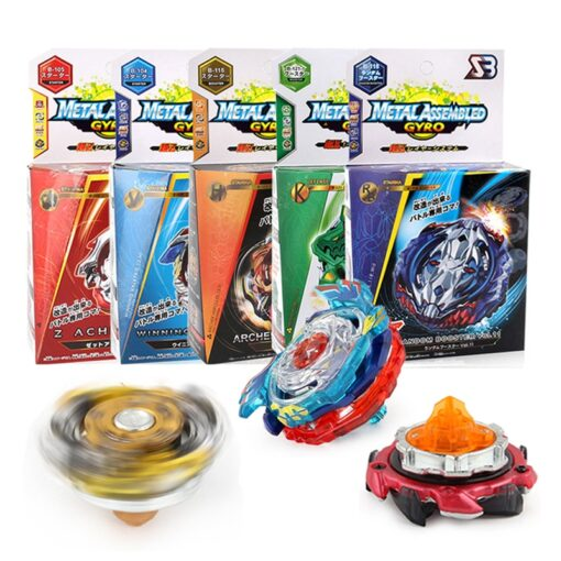 1 pack sb bey battle blade with launcher set burst turbo gt kids toys gyro gift
