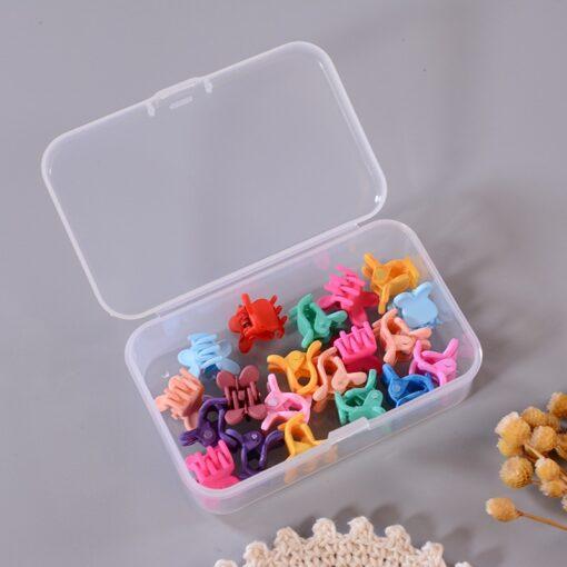 10 20 50Pcs Side Hair Clip Color Candy Color Edge Clip Little Girl Cute Hair Accessories 3