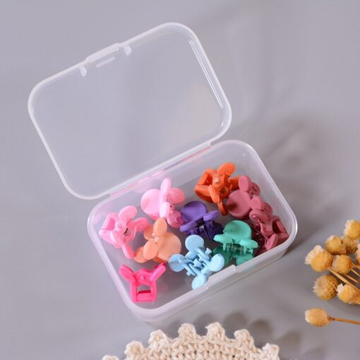10 20 50Pcs Side Hair Clip Color Candy Color Edge Clip Little Girl Cute Hair Accessories 4