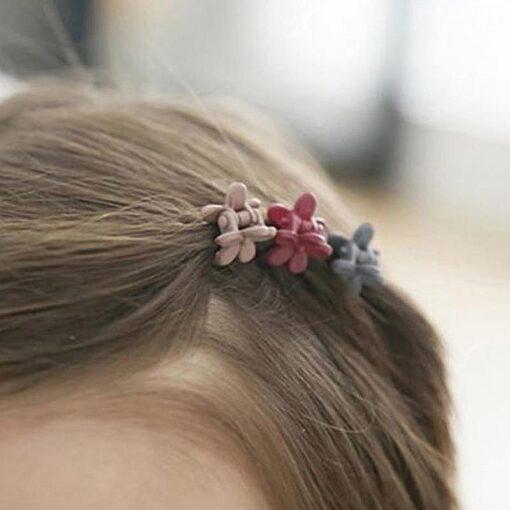 10 20 50Pcs Side Hair Clip Color Candy Color Edge Clip Little Girl Cute Hair Accessories
