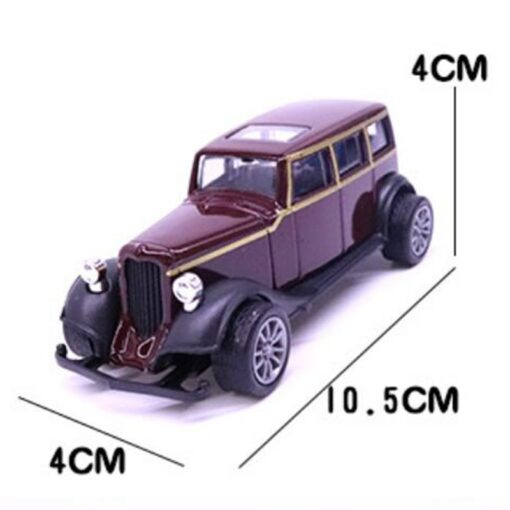 10 5CM Purple color 1 43 Scale Toy Car Metal Alloy Pull Back Diecast Classical Car 1