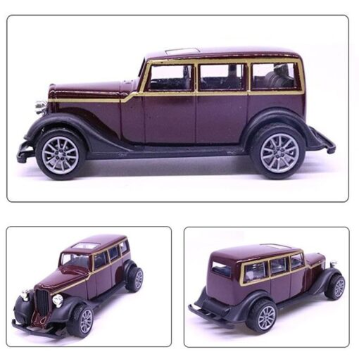 10 5CM Purple color 1 43 Scale Toy Car Metal Alloy Pull Back Diecast Classical Car