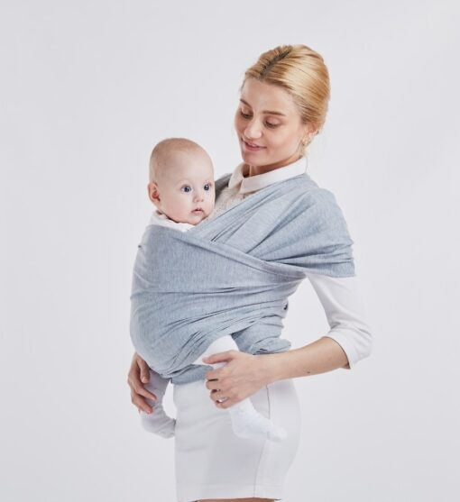 10 Colors Ergonomic Baby Sling Wrap Carrier Ring Mesh Cross Holding Baby Sling Seat Newborn Infant 1