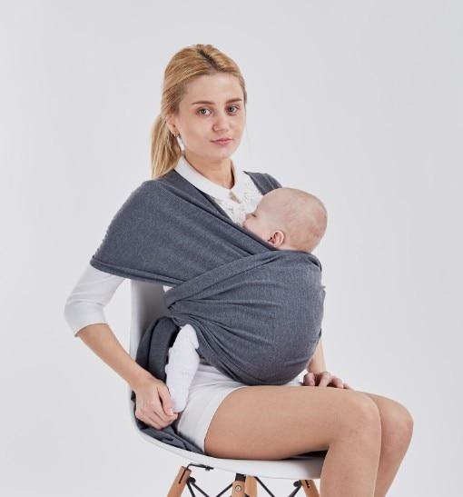 10 Colors Ergonomic Baby Sling Wrap Carrier Ring Mesh Cross Holding Baby Sling Seat Newborn Infant 4