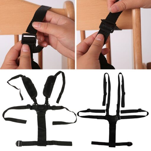 100 Brand New and High Quality 1pcs Baby Children 5 Point Harness Strap Stroller Pram Buggy 1