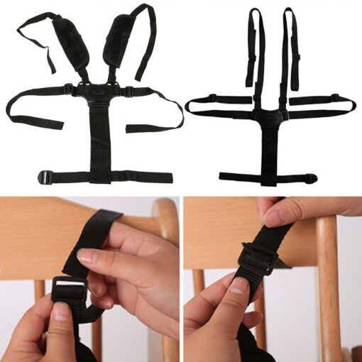 100 Brand New and High Quality 1pcs Baby Children 5 Point Harness Strap Stroller Pram Buggy