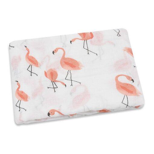 100 Cotton Baby Swaddles Soft Newborn Blankets Bath Gauze Infant Wrap Sleepsack Stroller Cover Play Mat 3