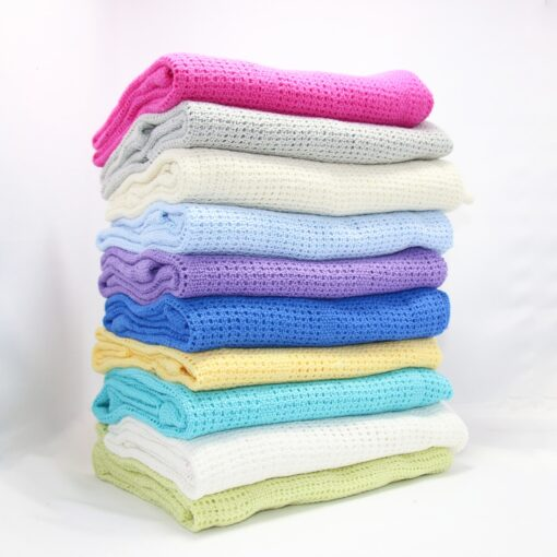 100 Cotton Candy Baby blankets Infant Mesh Blanket Swaddling Wrap Feeding Towel Baby Air Conditioning Blanket