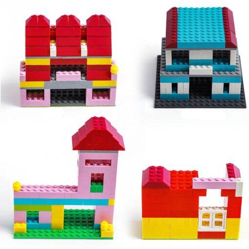 1000 Classic Building Block Set DIY Brick City Designer Part Bulk Pack Construction Model Educational Toy 1