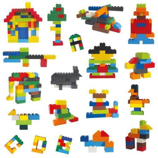 1000 Classic Building Block Set DIY Brick City Designer Part Bulk Pack Construction Model Educational Toy 4
