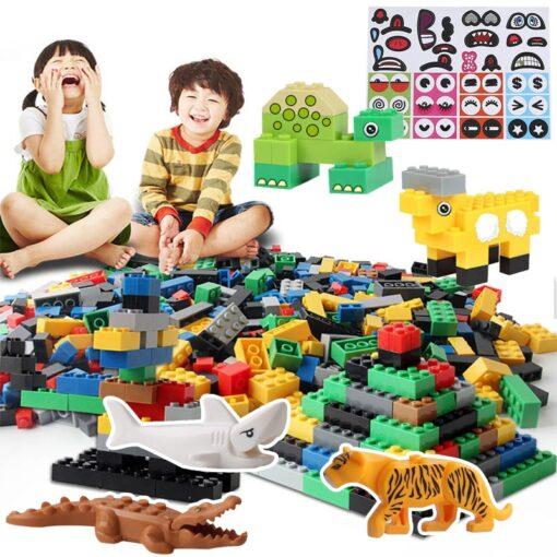 1000 Classic Building Block Set DIY Brick City Designer Part Bulk Pack Construction Model Educational Toy