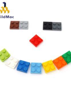 100pcs DIY Building Blocks Thin Figures Bricks 2x2 Dots Educational Creative Size Compatible With lego Plastic
