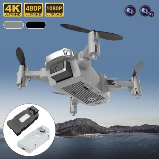 1080P 720P 480P Drone Camera With Wide Angle Hight Hold Mode Foldable Arm RC Quadcopter Drone 1