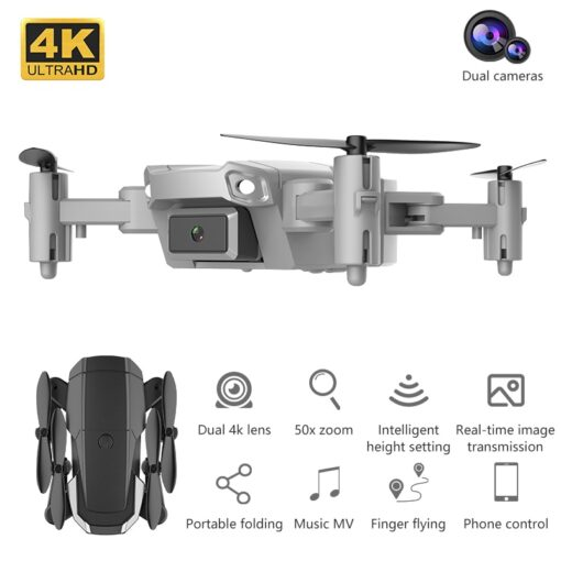 1080P 720P 480P Drone Camera With Wide Angle Hight Hold Mode Foldable Arm RC Quadcopter Drone 2