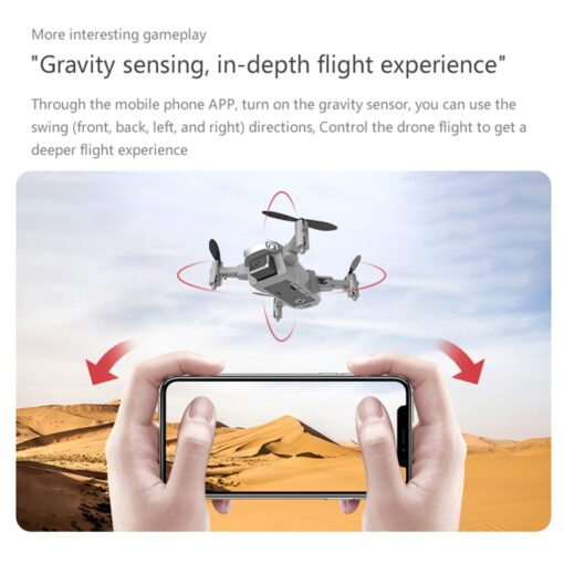 1080P 720P 480P Drone Camera With Wide Angle Hight Hold Mode Foldable Arm RC Quadcopter Drone 3