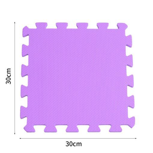 10PCS Baby Kids Play Mat Solid Colors Puzzle Excise Crawl Mat EVA Foam Floor Safe Play 5