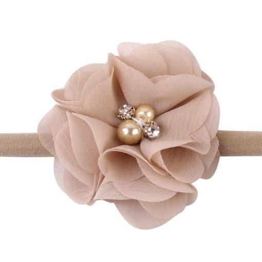 10PCS Elastic Lovely Girls Nylon Baby Headwear Hair Accessories Headband Flower Bow 5
