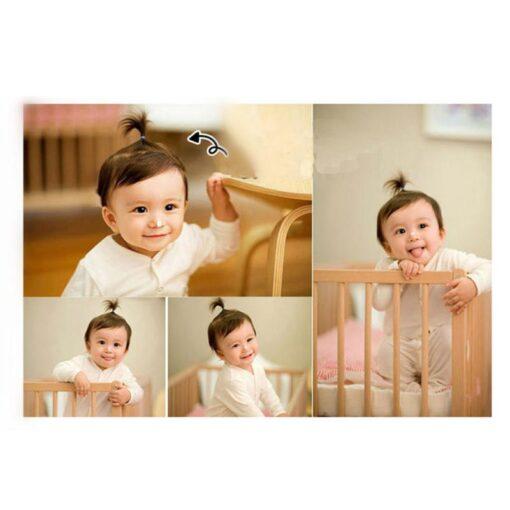 10PCS lot Solid Color Baby Girl Elastic Hair Bands Children Headwear Multicolor Girls Ponytail Holder Hair 5