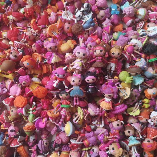 10Pcs set 3Inch Original MGA Lalaloopsy Dolls Mini Dolls For Girl s Toy Play Randomly send