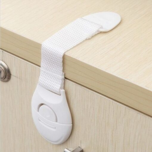 10pcs Child Safety Cabinet Lock Baby Proof Security Protector Drawer Door Cabinet Lock Plastic Protection Kids 1