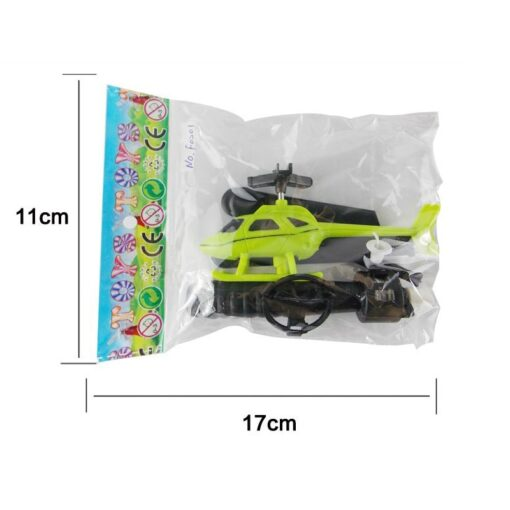 10pcs Kids Educational Toys Pull Wires RC Helicopters Fly Freedom Drawstring Mini Plane Children s Gifts 1