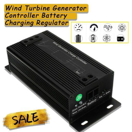 12 24 48V Wind Turbine Generator Controller Battery Charging Regulator 400 1000W