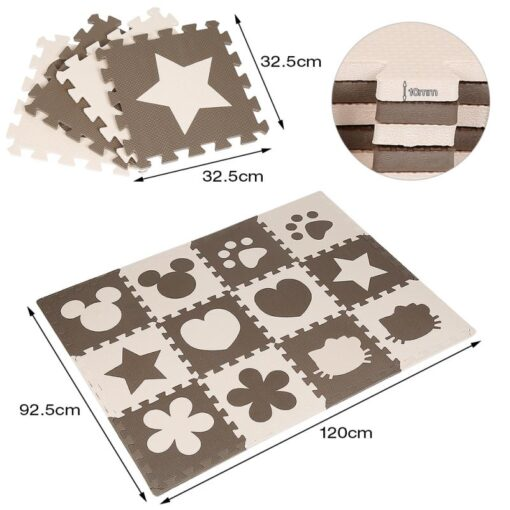 12Pcs Lot Children s Rug Summer Carpet EVA Foam Puzzle Mats Baby Play Mat Toys Floor 3