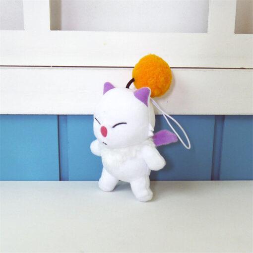 12cm Anime Final Fantasy FF15 Moogle Mogli Plush Dolls Cartoon Cosplay Plush Toy Stuffed Doll Gift 1