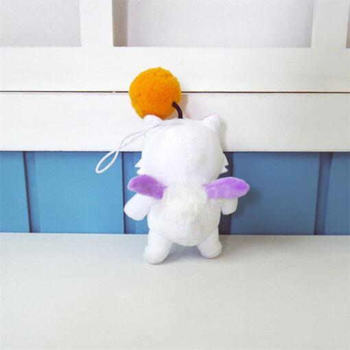 12cm Anime Final Fantasy FF15 Moogle Mogli Plush Dolls Cartoon Cosplay Plush Toy Stuffed Doll Gift 2