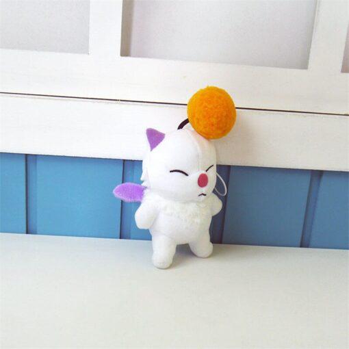 12cm Anime Final Fantasy FF15 Moogle Mogli Plush Dolls Cartoon Cosplay Plush Toy Stuffed Doll Gift 3