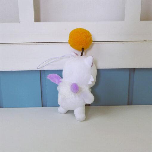 12cm Anime Final Fantasy FF15 Moogle Mogli Plush Dolls Cartoon Cosplay Plush Toy Stuffed Doll Gift 4