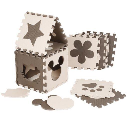 12pcs Baby Crawling Play Mat Foam Environmentally Friendly Thick Folding Mat Carpet Play Mat For Children 1